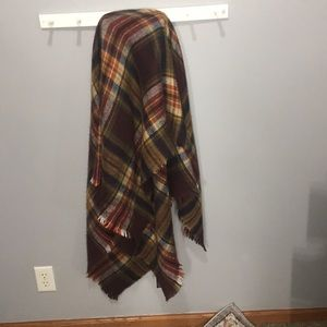Zara fall blanket scarf